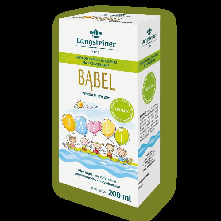 Inhalacja dla dzieci na przeziębienie i katar - Bąbel